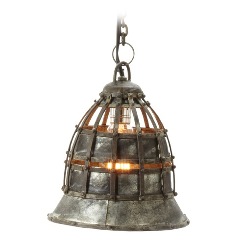 Dimond Lighting Flared Fortress Pendant Light 135003