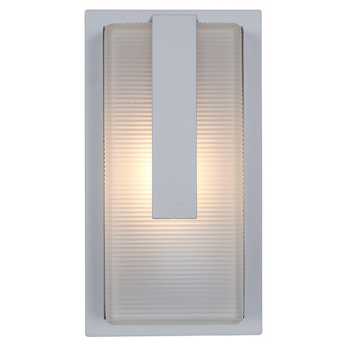 Access Lighting Access Lighting Neptune Satin Nickel Outdoor Wall Light 20012MG-SAT/RFR
