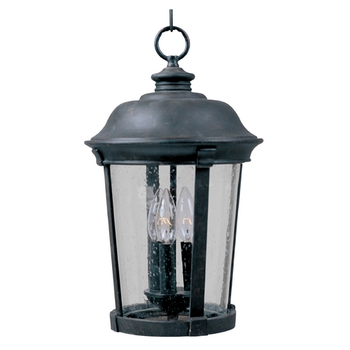 Maxim Lighting Maxim Lighting Dover Dc Bronze Outdoor Hanging Light 3029CDBZ