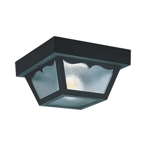 Sea Gull Lighting Close To Ceiling Light with Clear Glass in Clear Finish 7569-32