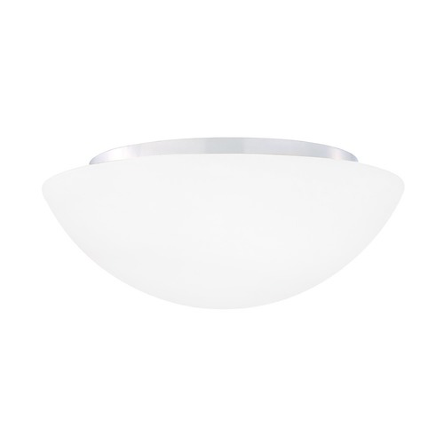 Design Classics Lighting Modern White Opal Flushmount Ceiling Light 214 W/OP