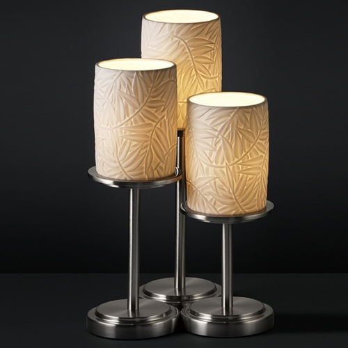 Justice Design Group Justice Design Group Limoges Collection Table Lamp POR-8797-10-BMBO-NCKL