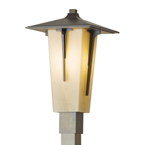 Hubbardton Forge Lighting Hubbardton Forge Lighting Modern Prairie Bronze Post Light 345715-SKT-05-HH0443