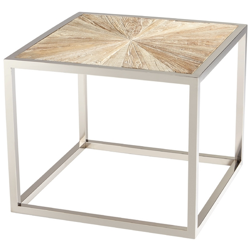 Cyan Design Cyan Design Aspen Black Forest Grove & Chrome Coffee & End Table 06550