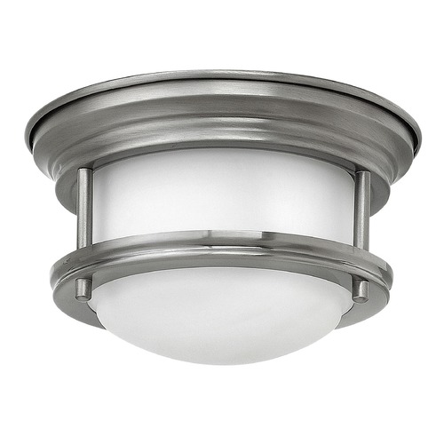Hinkley Lighting Hinkley Lighting Hadley Antique Nickel LED Flushmount Light 3308AN-QF