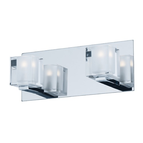 ET2 Lighting Blocs LED Polished Chrome LED Bathroom Light E32032-18PC
