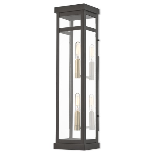 Livex Lighting Livex Lighting Hopewell Bronze Outdoor Wall Light 20706-07
