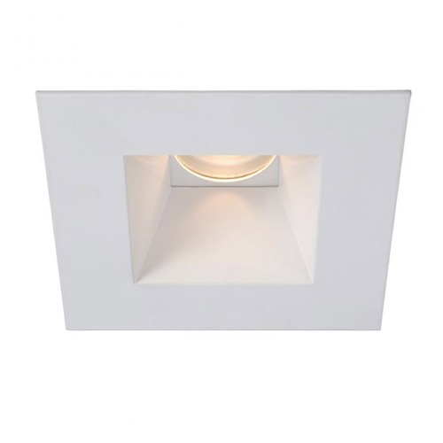 WAC Lighting WAC Lighting Square White 3.5-Inch LED Recessed Trim 2700K 1005LM 18 Degree HR3LEDT718PS927WT