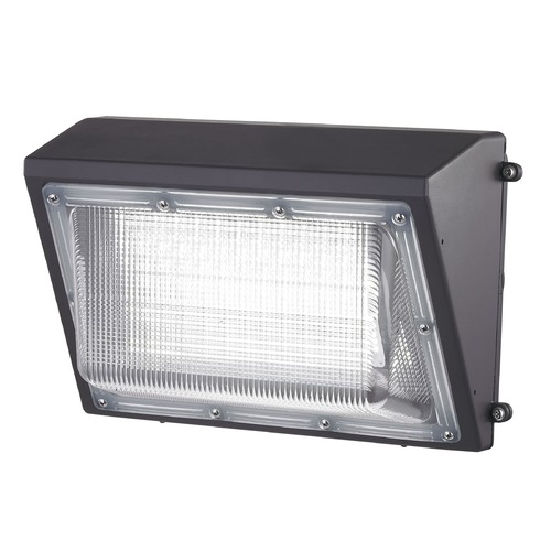Recesso Lighting by Dolan Designs LED Wall Pack Bronze 100-Watt 10500 Lumens 5000K 110 Degree Beam Spread WP01-100W-50-BZ