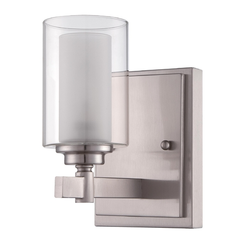 Craftmade Lighting Craftmade Celeste Brushed Polished Nickel Sconce 16705BNK1