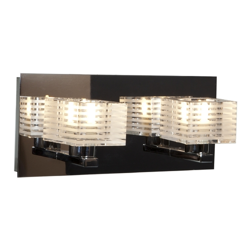 Access Lighting Access Lighting Sophie Chrome Bathroom Light 62281-CH/CLFR