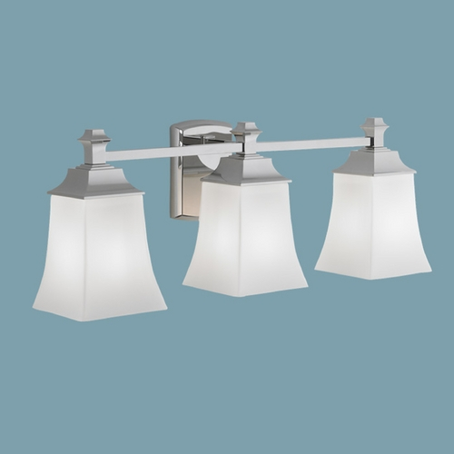 Norwell Lighting Norwell Lighting Sapphire Chrome Bathroom Light 9713-CH-SO
