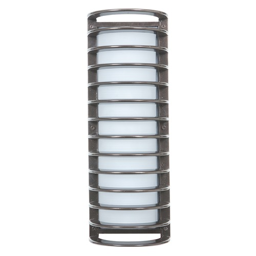 Access Lighting Access Lighting Bermuda Satin Nickel Outdoor Wall Light 20030MG-SAT/RFR