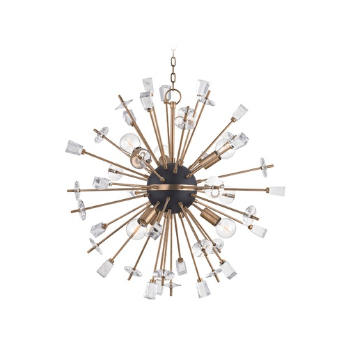 Hudson Valley Lighting Hudson Valley Lighting Liberty Aged Brass Chandelier 5032-AGB
