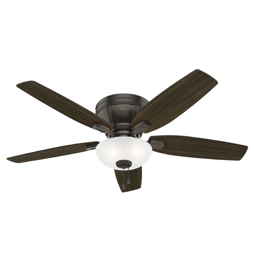 Hunter Fan Company Hunter 52-Inch Kenbridge Noble Bronze Ceiling Fan with Light 53379