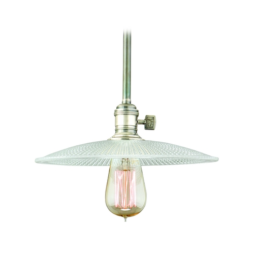 Hudson Valley Lighting Mini-Pendant Light with Clear Glass 9001-HN-GS4