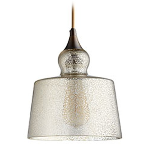 Quorum Lighting Quorum Lighting Oiled Bronze Mini-Pendant Light 8001-4786