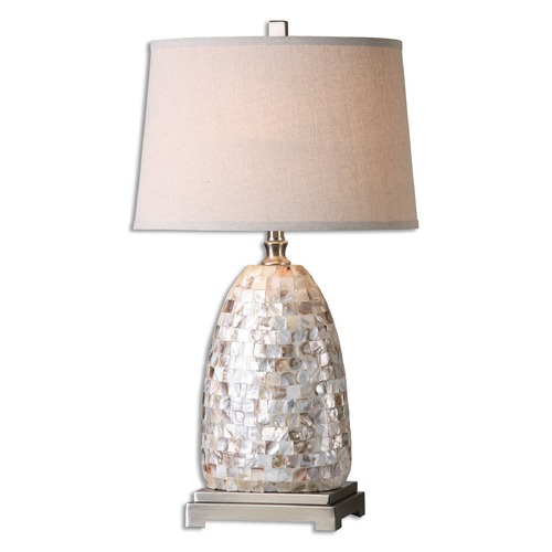 Uttermost Lighting Uttermost Capurso Capiz Shell Table Lamp 26505