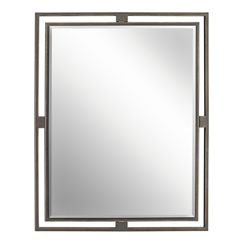 Kichler Lighting Hendrik Rectangle 24-Inch Mirror 41071SGD
