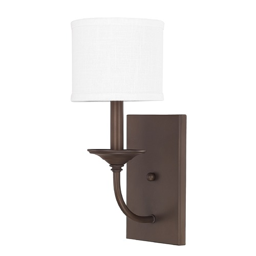 Capital Lighting Capital Lighting Loft Burnished Bronze Sconce 1981BB-469
