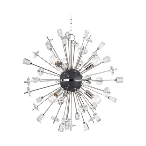 Hudson Valley Lighting Hudson Valley Lighting Liberty Polished Nickel Chandelier 5032-PN