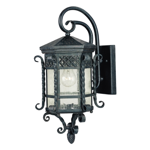 Maxim Lighting Maxim Lighting Scottsdale Country Forge Outdoor Wall Light 30123CDCF