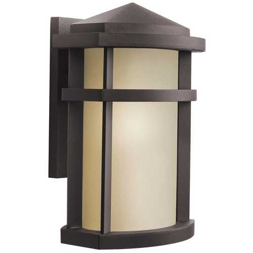 Kichler Lighting Kichler Modern Outdoor Wall Light in Bronze Finish 9167AZ