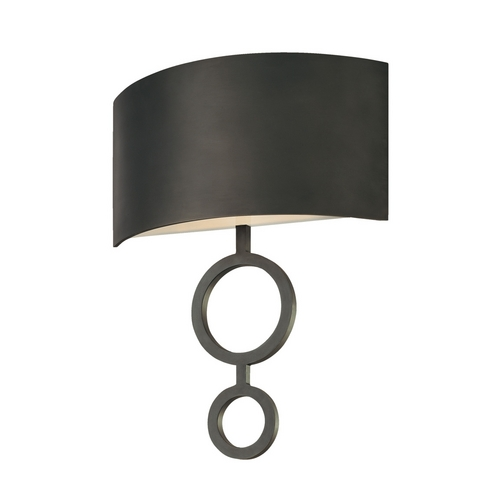Sonneman Lighting Modern Sconce Wall Light in Rubbed Bronze Finish 1881.24F
