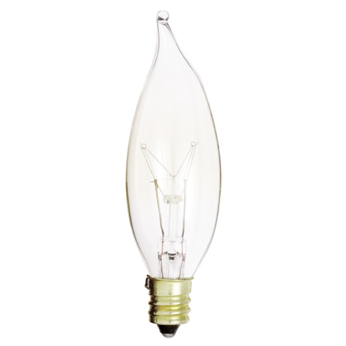Satco Lighting 15-Watt C8 Light Bulb A3673