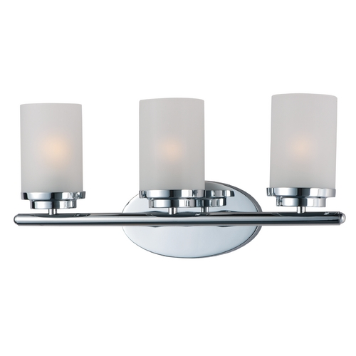 Maxim Lighting Maxim Lighting Corona Polished Chrome Bathroom Light 10213FTPC