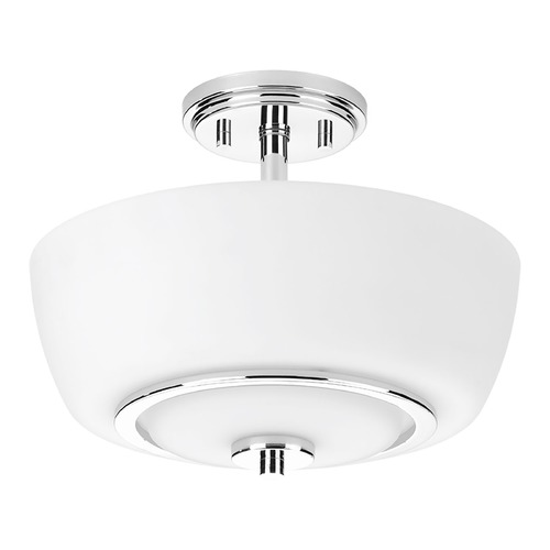 Progress Lighting Progress Lighting Fleet Polished Chrome Semi-Flushmount Light P3669-15