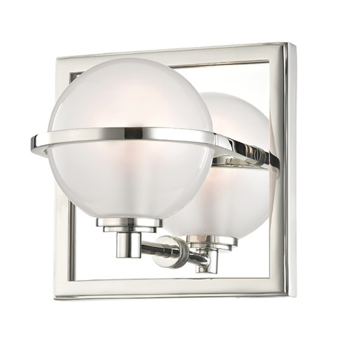 Hudson Valley Emergency Lighting: Hudson Valley Lighting Axiom Polished Nickel LED Sconce
