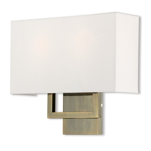 Livex Lighting Livex Lighting Pierson Antique Brass Sconce 50990-01