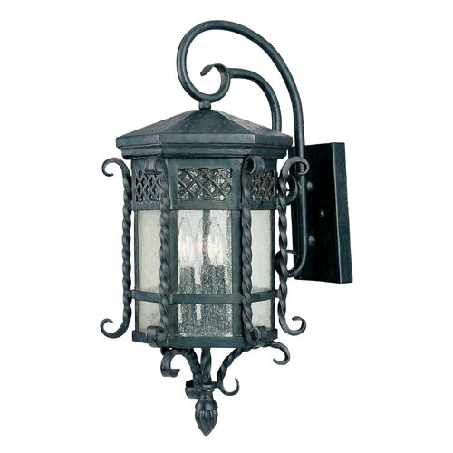 Maxim Lighting Maxim Lighting Scottsdale Country Forge Outdoor Wall Light 30124CDCF
