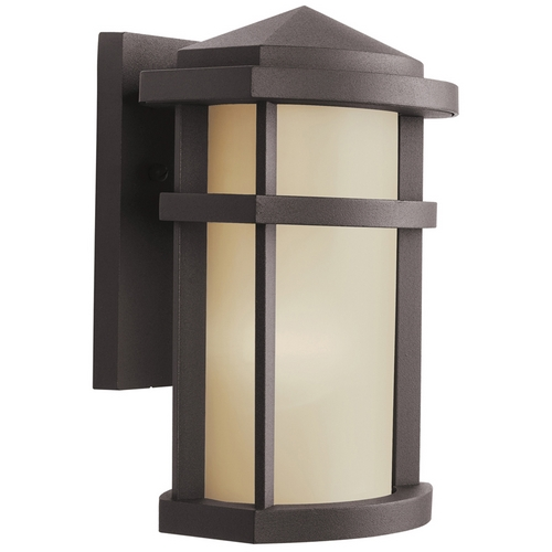 Kichler Lighting Kichler Modern Outdoor Wall Light in Bronze Finish 9166AZ