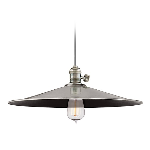 Hudson Valley Lighting Pendant Light in Historic Nickel Finish 9001-HN-ML1