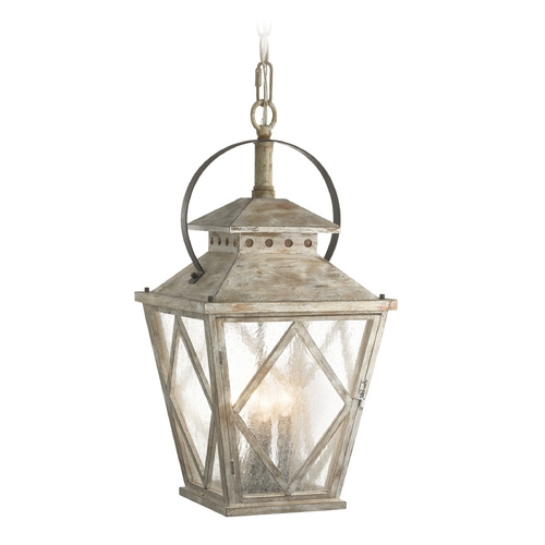 Kichler Lighting Kichler Lighting Hayman Bay Distressed Antique White Pendant Light 43259DAW