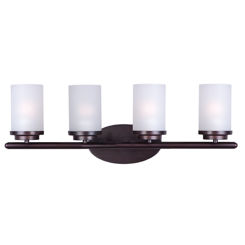 Maxim Lighting Maxim Lighting Corona Oil Rubbed Bronze Bathroom Light 10214FTOI