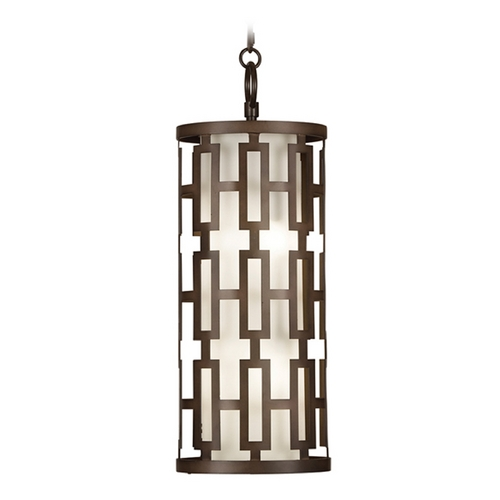 Fine Art Lamps Fine Art Lamps River Oaks Dark Bronze Outdoor Hanging Light 839082ST