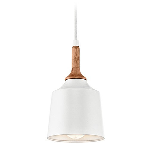 Kichler Lighting Kichler Lighting Danika Mini-Pendant Light with Bowl / Dome Shade 43682WH