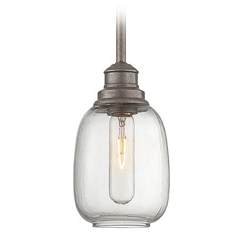 Savoy House Savoy House Industrial Steel Mini-Pendant Light with Bowl / Dome Shade 7-4332-1-27