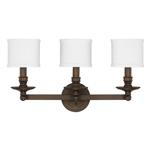 Capital Lighting Capital Lighting Midtown Burnished Bronze Bathroom Light 1238BB-451