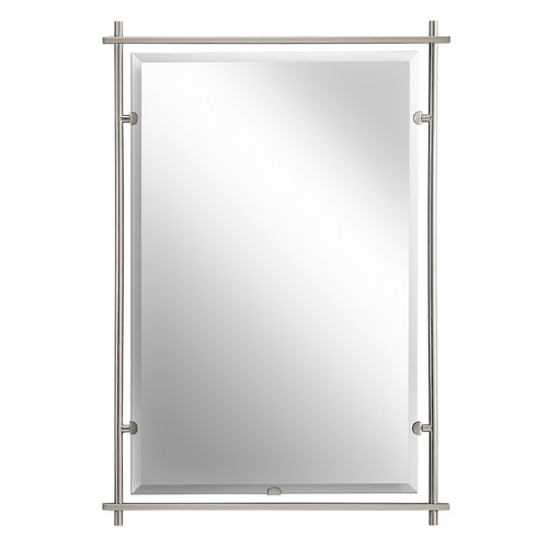 Kichler Lighting Eileen Rectangle 26.5-Inch Mirror 41096SGD