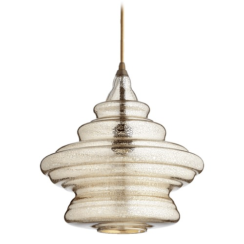 Quorum Lighting Quorum Lighting Oiled Bronze Pendant Light with Bowl / Dome Shade 8003-4786