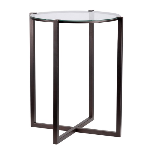 Kenroy Home Lighting Kenroy Home Lodin Satin Bronze Accent Table 65023SBRZ
