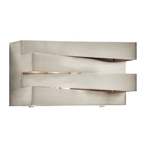 Elan Lighting Elan Lighting Massimik Nickel Sconce 83112