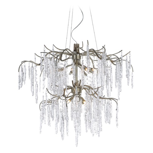 Maxim Lighting Maxim Lighting Willow Silver Gold Chandelier 26288ICSG