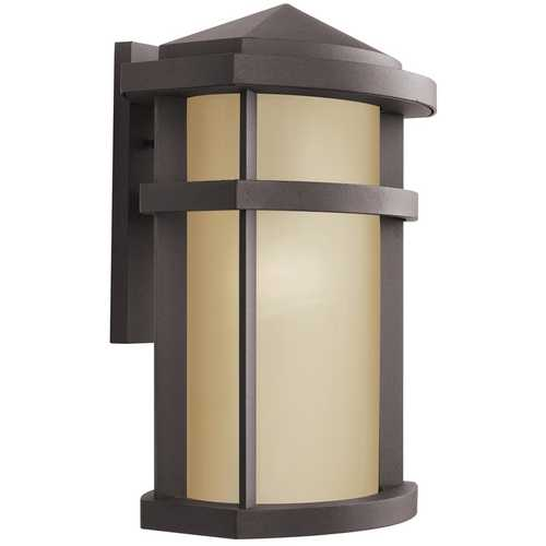 Kichler Lighting Kichler Modern Outdoor Wall Light in Bronze Finish 9168AZ