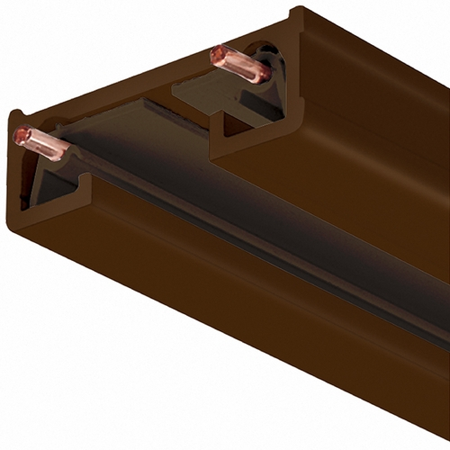 Juno Lighting Group 4 Ft Track Section in Bronze Finish Juno Trac Lites Collection R 4FT BZ