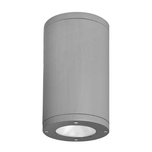 WAC Lighting 6-Inch Graphite LED Tube Architectural Flush Mount 2700K 2400LM DS-CD06-S27-GH